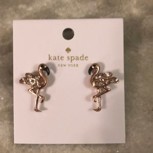 Kate Spade Flamingo Earrings
